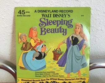 Vintage Children's Record, Disneyland Record, Sleeping Beauty # 613