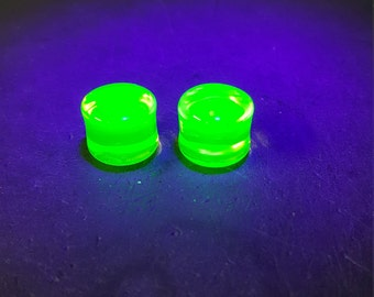 9/16 illuminati UV ear plugs