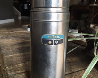 Vintage Stainless Steel Thermos