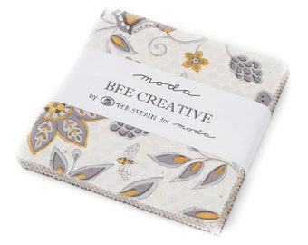 Bee Creative Charm Pack by Deb Strain for Moda Fabrics