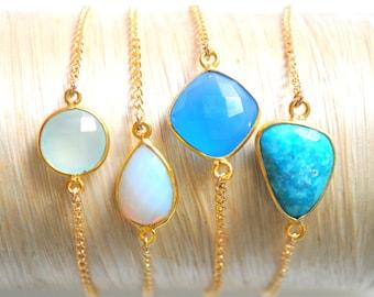 Tahiti Bracelet- select stone