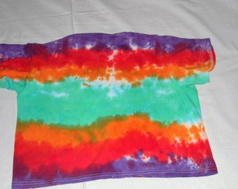 Childs Hand Dyed T-Shirt, Childs T-Shirt, Hand Dyed Clothing, OOAK