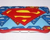 Superman Baby Wipe Case