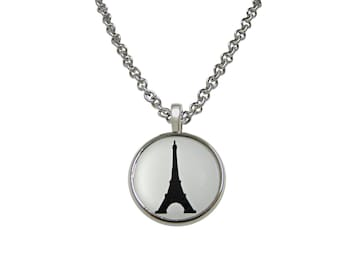 France Eiffel Tower Pendant Necklace