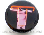 "Reserved for Elaine: Letter ""T"" alphabet photo pin"