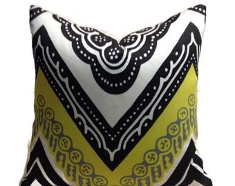 Trina Turk Tangier Frame Pillow Cover, Schumacher Pillow, Outdoor Pillow, Patio Pillow, Outdoor Pillow, Home Decor