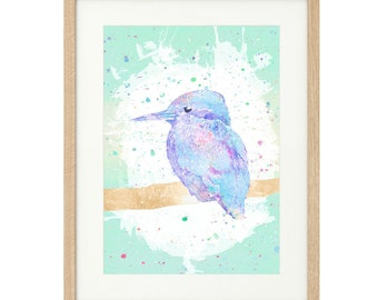 Kingfisher - Large - Limited Edition Print