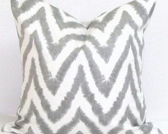 Gray Pillows, Gray Chevron Pillows, Grey Pillow Cover, Decorative Pillow, Gray Throw Pillow, Chevron Pillow, All Sizes, Euro, Grey Cushion