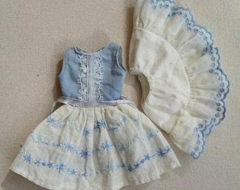 Vintage Skipper Happy Birthday Dress and Petticoat