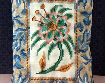 Tropical Flower PDF Cross Stitch Chart (Ref:PDF019)