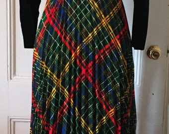Have your Highland Fling in this Two-Piece Vintage Dress and Jacket