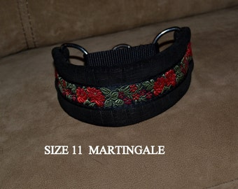 Leather Martingale Collars