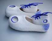 Daddy And Me felted slippers set Father and Baby slippers set - Fathers Day gift -expecting baby - pregnancy announcement