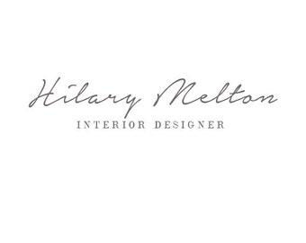 Handwritten Logo - Logo design - script logo - typography logo - typography design - modern logo - for any business - branding, Custom Logo