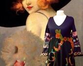 Playful dress Folk RESERVED FOR SUSAN