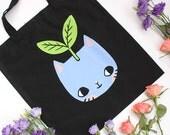 Plant Kitty Tote Bag