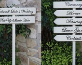 CUSTOM ORDER for Madison and Luke's Wedding Signs
