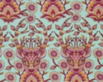 Tula Pink Deer Me - Strawberry - Moonshine - Free Spirit Fabrics