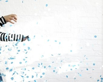 Gender Reveal Announcement Confetti Balloon