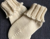 Certified Organic merino wool newborn socks baby shower new baby unisex girl boy warm socks eco natural gift for baby