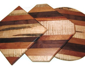 Cheese Cutting Boards, Serving Boards, Multi Wood Boards, Chopping Boards, Hot Plate, Trivet Hostess Gift