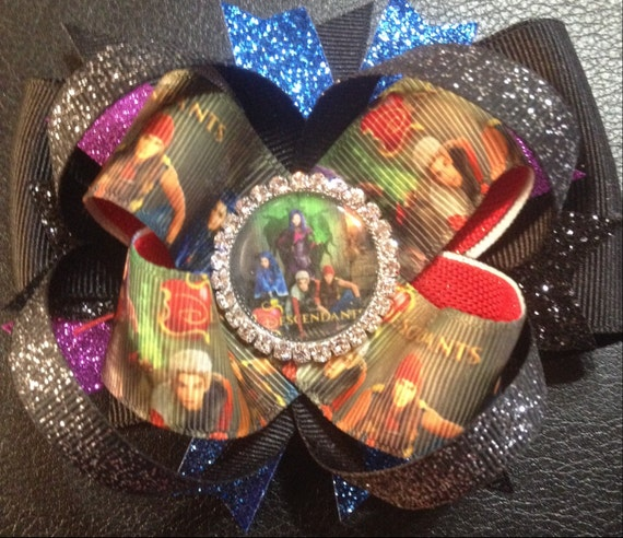 Disney Descendants Boutique Hair Bow