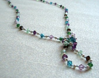 Hand Knotted Necklace - Lillian in Wildflower, Ready to Ship
