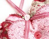 Valentine's Gift for Her - Valentine Gift - Heart Door Hanger - Decorative Heart - Valentine's Decoration - Hanging Hearts for Door