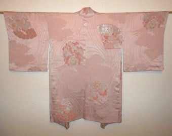 Vintage haori - Folding fun and flower bouquet