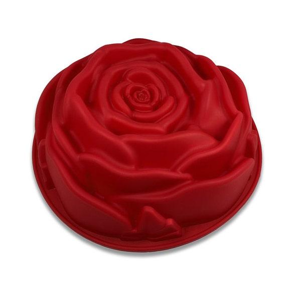 Rose Bundt Cake Images : Items similar to Rose Cake Baking Pan Bundt Bunt Flower ...