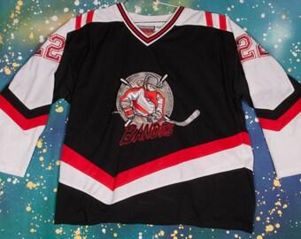 New Jersey BANDITS #22 Hockey Jersey Size XL