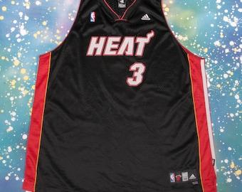 Miami HEAT Basketball Jersey #3 Wade Size 3XL