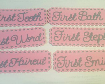 Baby's firsts tags