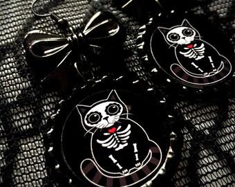 Muertos Kitty earrings