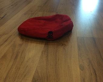 Red Toddler/Infant Newsboy Cap