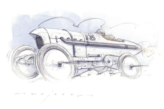 BLITZEN BENZ Limited Edition Print