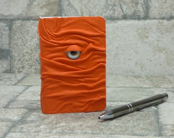 Notebook Journal Sketchbook Diary Orange Leather Labyrinth Harry Potter Pocket Book Of Shadows