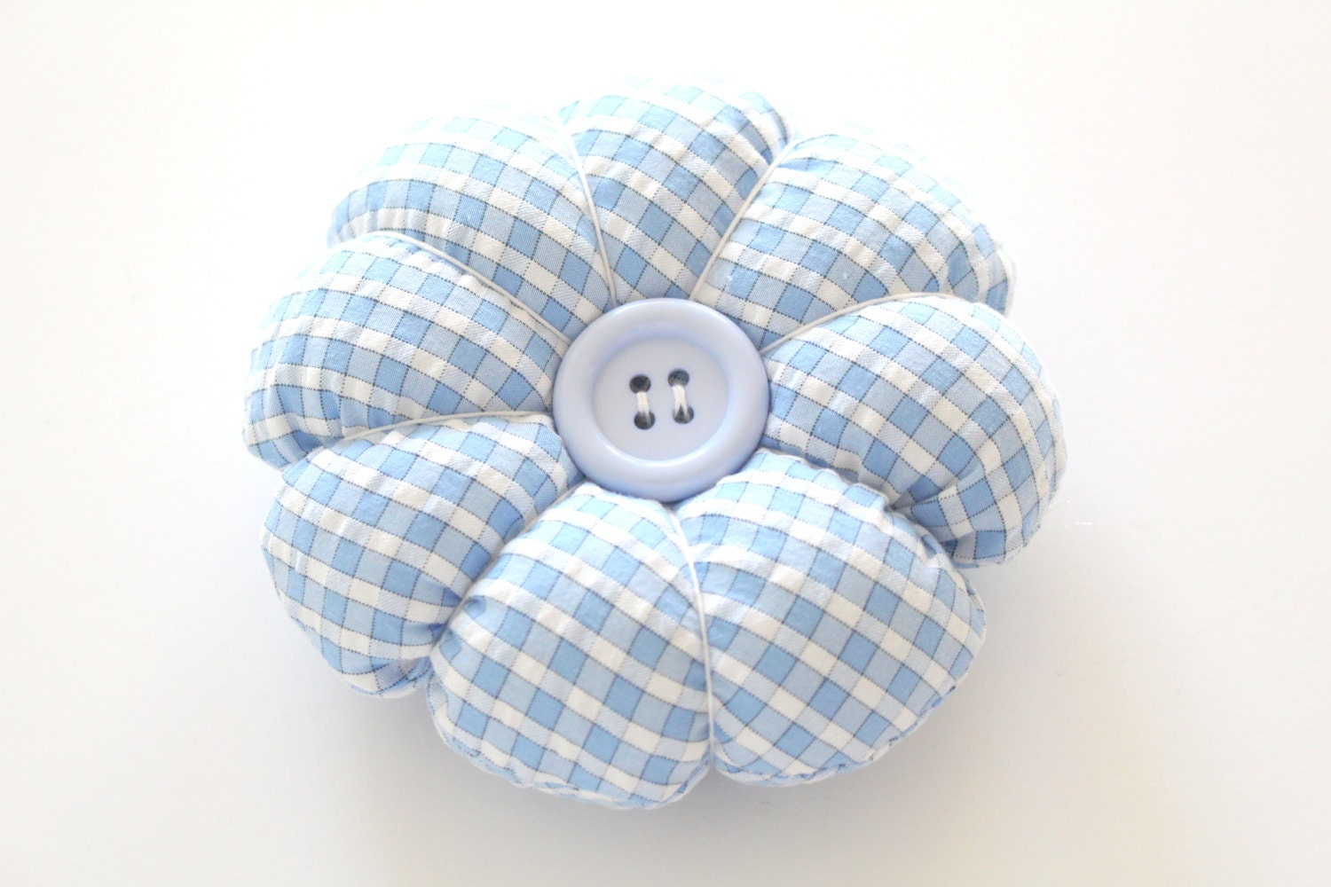 PIN CUSHION Handmade Round Plumpy Pin Cushion Gifts for