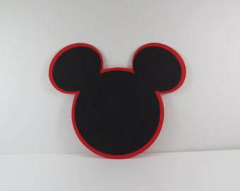 Mickey Mouse Head Silhouette Embellishment