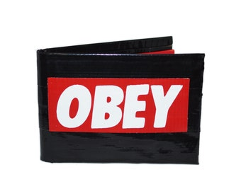 Obey Duct Tape Wallet