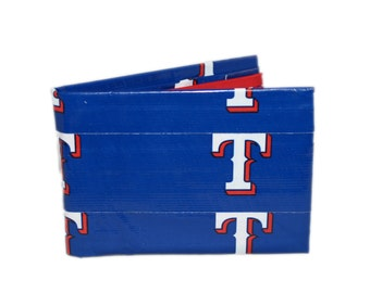 Texas Rangers Duct Tape Wallet