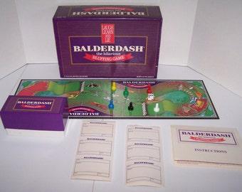 Vintage 1984  BALDERDASH Complete Original Hilarious Bluffing Family Board Game 80s