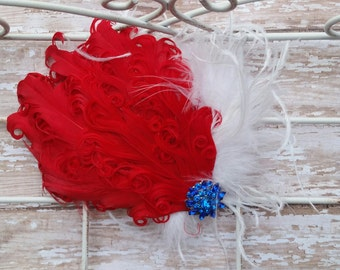 4th of July Hairpiece, USA, Welcome Home, Dorthy, Wizard of Oz Hair Clip
