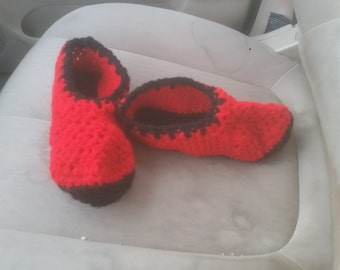 Men's ankle slippers