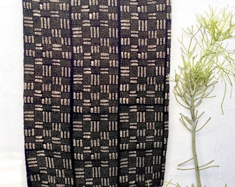 African Mudcloth Fabric, Mud cloth fabric, black and white mudcloth throw authentic mudcloth textile #10