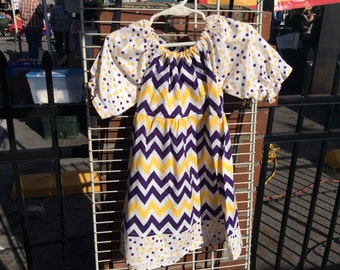 Bayou Baby Peasant dress