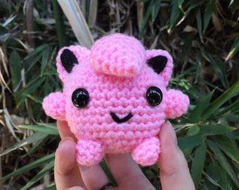 Jigglypuff Pokemon amigurumi plush toy