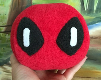 Deadpool dango cosplay plush toy Hand cafted