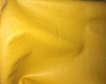 Marigold Yellow Leather 16 sf     (A)