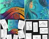 24 hr Flash Sale- 2 Colouring Books